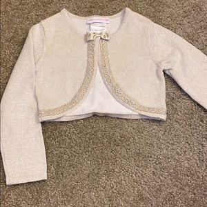 Girls special occasion sweater